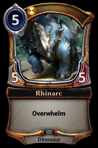 Rhinarc card
