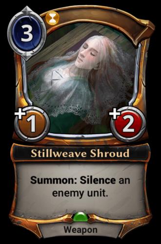 Stillweave Shroud card