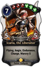 Icaria, the Liberator