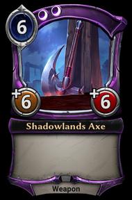 Shadowlands Axe