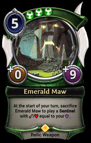 Emerald Maw card