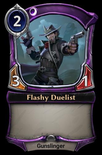 Flashy Duelist card