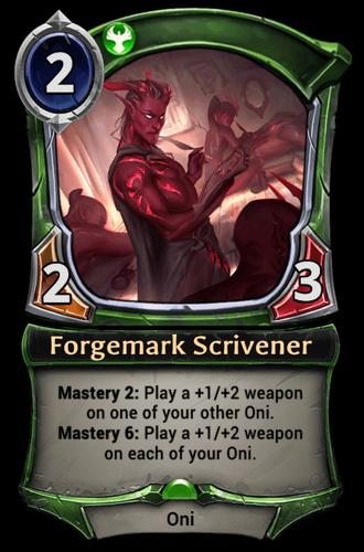 Forgemark Scrivener card