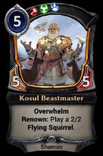Kosul Beastmaster