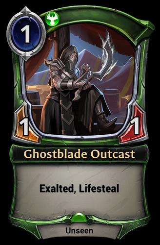 Ghostblade Outcast card