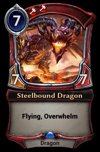 Steelbound Dragon card