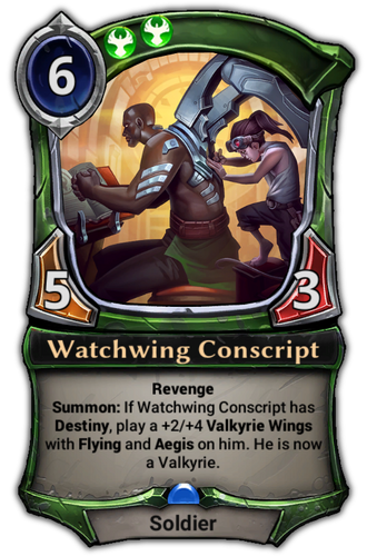Watchwing Conscript card