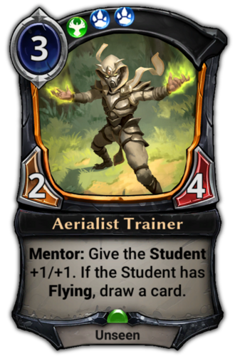 Aerialist Trainer card