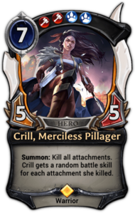 Crill, Merciless Pillager