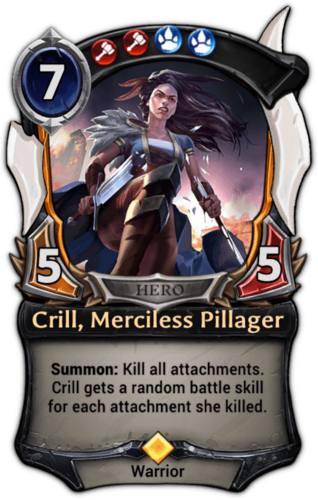 Crill, Merciless Pillager card