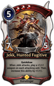 Jekk, Hunted Fugitive