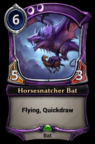 Horsesnatcher Bat card
