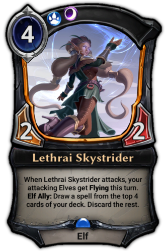 Lethrai Skystrider card