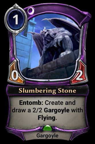 Slumbering Stone card