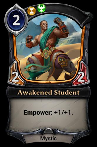 Awakened Student card