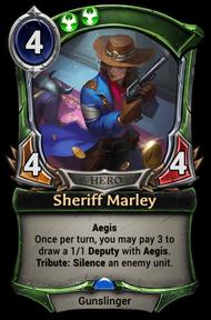 Sheriff Marley
