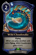 Wild Cloudsnake