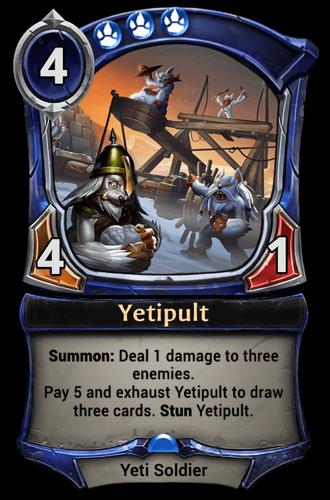 Yetipult card