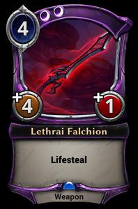 Lethrai Falchion