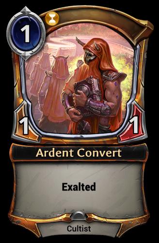 Ardent Convert card
