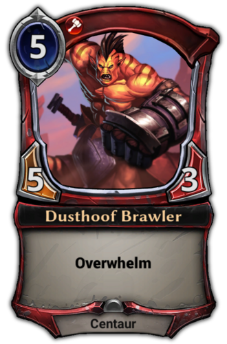 Dusthoof Brawler card