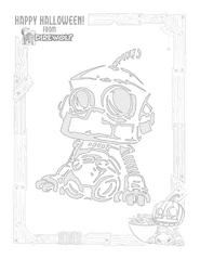 Pumpkin Stencil - Helpful Doorbot
