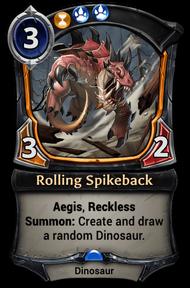 Rolling Spikeback