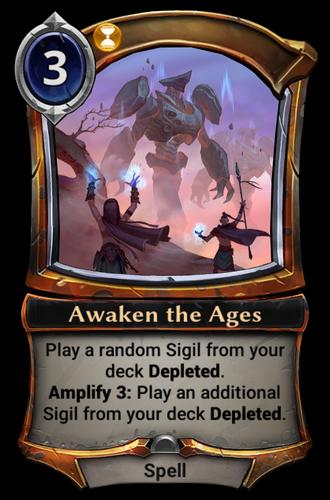 Awaken the Ages card