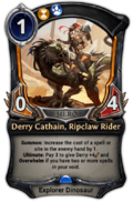 Derry Cathain, Ripclaw Rider