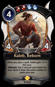 Kaleb, Reborn