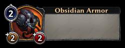 Obsidian Armor Token