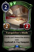 Vanquisher's Blade