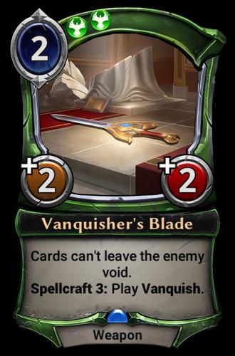 Vanquisher's Blade card