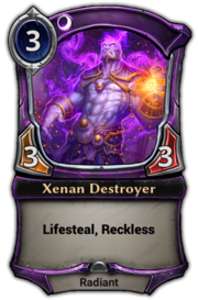 Xenan Destroyer