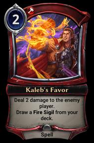 Kaleb's Favor