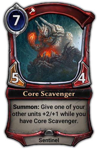 Core Scavenger card