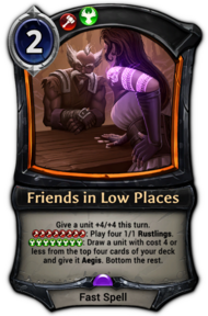 Friends in Low Places