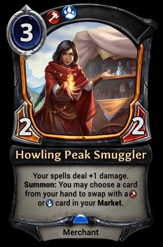 Howling Peak Smuggler card