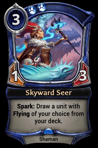 Skyward Seer card