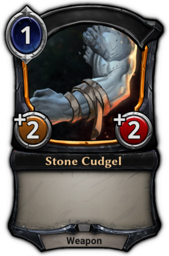 Stone Cudgel card