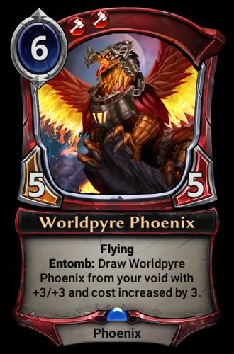 Worldpyre Phoenix card