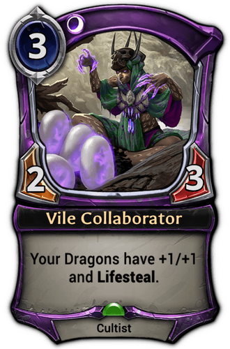 Vile Collaborator card