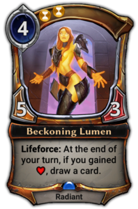 Beckoning Lumen