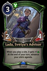 Lada, Svetya's Advisor