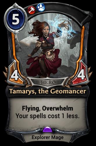 Tamarys, the Geomancer card