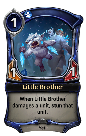 Little Brother card