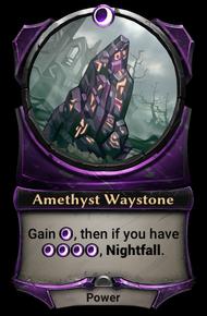 Amethyst Waystone
