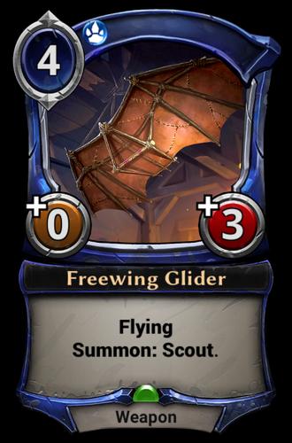 Freewing Glider card