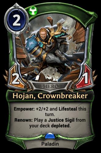 Hojan, Crownbreaker card