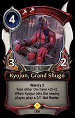 Kyojun, Grand Shugo